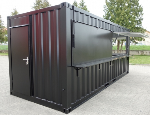 Bar / Kioskcontainer 20′