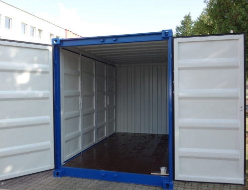 Open-Side Lagercontainer